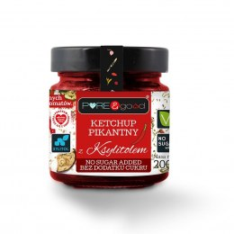 Ketchup pikantny z ksylitolem 200 g - Pure and good
