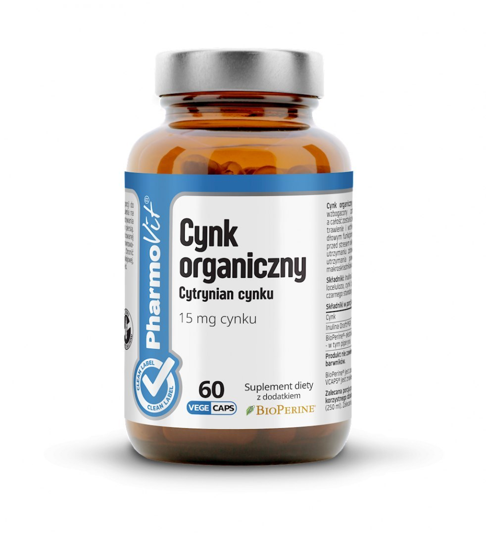 CYNK 60 KAPSUŁEK 19,2 g- PHARMOVIT (CLEAN LABEL)